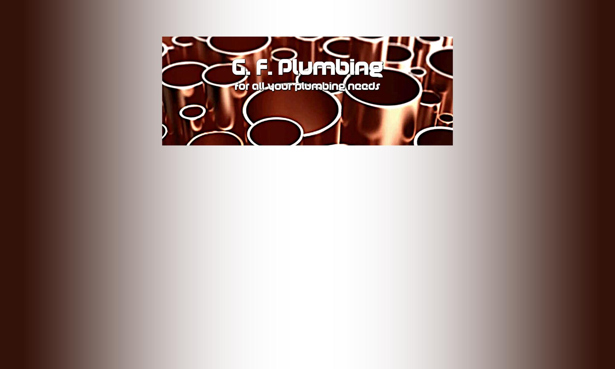 G.F. Plumbing